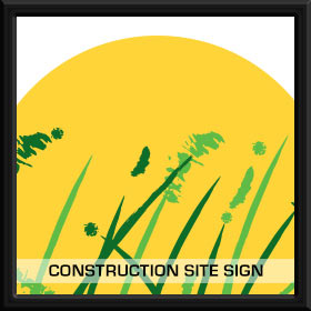 Construction Site Sign | GAW2